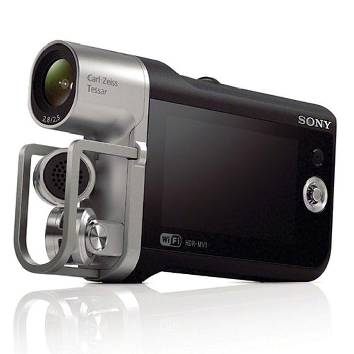Sony HDR-MV1 видеокамераHDRMV1B.E35Устройство записи звука для видео Sony HDR-MV1. Аудиоформаты PCM и AAC обеспечивают удобство и универсальность: Запись звука в формате несжатого линейного PCM (LPCM) или AAC с высоким CD-качеством для быстрой загрузки. Широкоугольный объектив 120° Carl Zeiss Tessar: Широкоугольный объектив Carl Zeiss Vario-Tessar с углом обзора 120° не только позволяет делать высококачественное видео с потрясающим разрешением, контрастом и цветопередачей, но и уместить в кадре всю выступающую группу, даже с небольшого расстояния. Идеально подходит для любых сюжетов - от репетиций до живых концертов. Матрица Exmor R CMOS идеально подходит для съемки в условиях низкой освещенности: Благодаря чрезвычайно чувствительной матрице Exmor R CMOS Sony вы можете уловить выражения лиц и быстрые движения даже в темных помещениях (например, в студиях или на сценах). Глубокий стереозвук благодаря микрофону 120° X/Y: Широкоугольная...