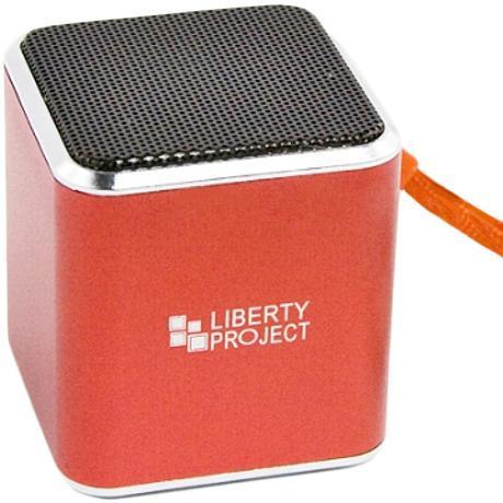 Liberty Project M1, Red портативная колонкаCD125007Liberty Project M1 - это компактная портативная акустическая система, совместимая с большинством аудиоустройств. Небольшие размеры и встроенный аккумулятор дают возможность использовать колонки в мобильном режиме, в любом месте, где нет электричества. Скромные с виду динамики обеспечивают вполне серьезную громкость и с легкостью озвучивают небольшое помещение или место пикника, отдыха. Для подключения можно использовать стандартный аудиоразъем 3.5 мм. Liberty Project M1 - прекрасное решение для всех, кто хочет слушать любимую музыку в компании и не зависеть от розетки. Кроме того, у данной модели акустики есть возможность воспроизводить аудиофайлы непосредственно с карты памяти.