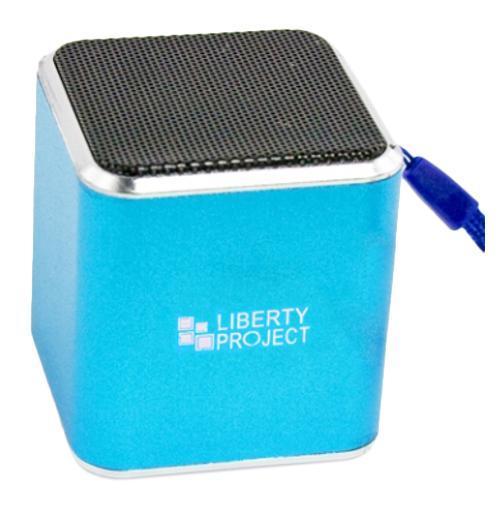 Liberty Project M1, Blue портативная колонкаCD124654Liberty Project M1 - это компактная портативная акустическая система, совместимая с большинством аудиоустройств. Небольшие размеры и встроенный аккумулятор дают возможность использовать колонки в мобильном режиме, в любом месте, где нет электричества. Скромные с виду динамики обеспечивают вполне серьезную громкость и с легкостью озвучивают небольшое помещение или место пикника, отдыха. Для подключения можно использовать стандартный аудиоразъем 3.5 мм. Liberty Project M1 - прекрасное решение для всех, кто хочет слушать любимую музыку в компании и не зависеть от розетки. Кроме того, у данной модели акустики есть возможность воспроизводить аудиофайлы непосредственно с карты памяти.