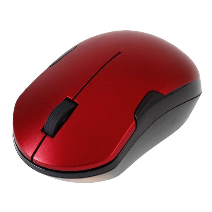 Smartbuy SBM-355AG-RK, Red Black беспроводная мышьSBM-355AG-RKSmartBuy SBM-355AG USB - это беспроводная оптическая мышь, которая имеет современный эргономичный дизайн. Благодаря чувствительному сенсору мышь может работать на различных поверхностях, не теряя при этом своей точности и плавности. Она имеет оптический сенсор с разрешением 1000 dpi. Данная модель подходит для работы в офисе.