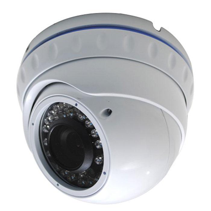 Sapsan SAV303M купольная видеокамераSAV303MЦветная, купольная, антивандальная уличная камера Sapsan SAV303M в металлическом корпусе с ИК подсветкой, обладает высокой чувствительностью. Камера предназначена для размещения в помещениях или на улице. Вариофокальный объектив 4-9 мм позволит выбрать требуемый угол обзора. Автоматическая регулировка диафрагмы (АРД) объектива позволит камере подстраиваться под изменение освещенности в течение суток автоматически. Управление OSD меню позволяет адаптировать камеру к освещенности в месте установки, улучшить цветопередачу, подстроить усиление и убрать шумы (D-WDR, 2D-DNR, AGC, BLC).