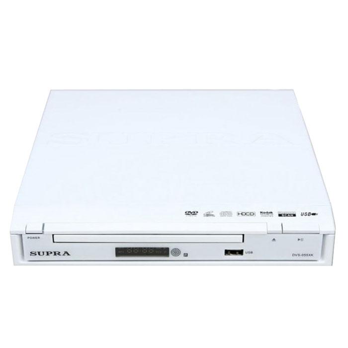 Supra DVS-055XK, White DVD-плеер
