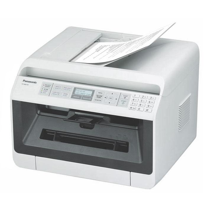 Panasonic KX-MB2110RU МФУKX-MB2110RUWЛазерное МФУ Panasonic KX-MB2110RU является полезным и удобным аппаратом с функциями принтера, сканера и копира. Такие устройства особенно пригодятся тем, кто стремится к экономии офисного и домашнего пространства. МФУ представляет собой сочетание экономичности и высокого качества работы. Компактный автоподатчик на 35 листов облегчает процесс копирования и сканирования. Информативный 2- строчный ЖК-дисплей позволит отследить процессы, выполняемые МФУ, а сетевой интерфейс - разместить устройство в любом месте офиса или квартиры, где есть локальная сеть, и распечатывать документы с любой машины в сети, независимо от того, включены или выключены остальные компьютеры. Также имеется возможность сканирования на электронную почту, ПК (в форматах PDF,TIFF,JPEG,BMP) и на FTP-сервер/ папку SMB (в форматах PDF,JPEG или TIFF).