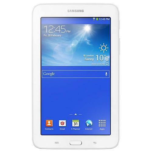 Samsung Galaxy Tab 3 Lite SM-T116, Cream WhiteSM-T116NDWASERПланшет Samsung Galaxy Tab 3 Lite доступен по демократичной цене, особенно приятной для устройства данной марки. Это бюджетный вариант предыдущей, третьей, версии девайса, не уступающий ей в функциональности. Модель качественно собрана, оснащена семидюймовым дисплеем с разрешением 1024х600 пикселей и производительным двухъядерным процессором. Она предназначена для комфортного веб-серфинга, общения, развлечений и станет отличным выбором для активного пользователя Планшет сертифицирован Ростест и имеет русифицированный интерфейс, меню и Руководство пользователя.