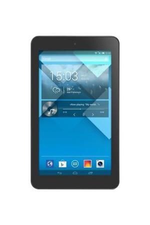 Alcatel OT-P310X POP7 3G, BlackP310X-2AALRU1Планшет Alcatel OT-P310X POP7 3G, Black; доступная модель, оснащенная всем необходимым для повседневной жизни. Быстрый Интернет, две камеры, емкая батарея и яркий семидюймовый экран обеспечат пользователя возможностями для общения, учебы или работы. Широкий выбор средств связи. Планшет ALCATEL POP 7 3G оснащен и 3G-модемом, и модулем Wi-Fi. В зависимости от ситуации пользователь сможет выбрать удобный ему вариант. Наличие фронтальной камеры делает возможным общение в видеочатах. Расширяемая память. Планшет сертифицирован Ростест и имеет русифицированный интерфейс, меню и Руководство пользователя.