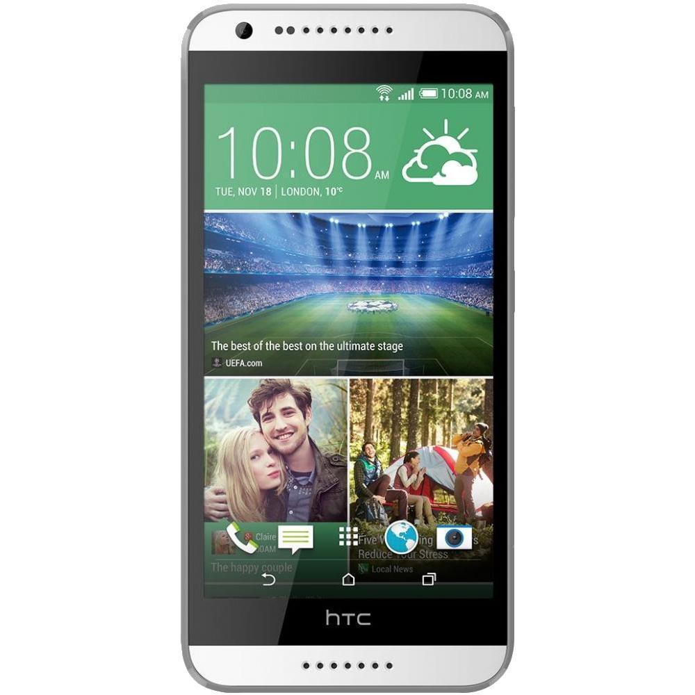 HTC Desire 620G Dual Sim, White Gray99HADC034-00Впечатляющие возможности HTC Desire 620G Окунитесь в мир невероятной четкости изображения и высокой производительности с HTC Desire 620G dual sim. Уникальный дизайн смартфона поможет подчеркнуть вашу индивидуальность, а большой HD-дисплей, две камеры, мощный процессор и поддержка двух SIM-карт - справиться со всеми поставленными задачами 5-дюймовый HD-дисплей Приготовьтесь насладиться реалистичным и четким изображением, которого вы еще не видели. Смартфон оснащен 5-дюймовым HD-экраном, который воспроизводит мельчайшие детали ваших фото и видео. Дисплей отображает широкий спектр цветов и оттенков, которые максимально приближены к реальной жизни. 8-ядерный процессор HTC Desire 620G dual sim - действительно мощный смартфон. Его 8-ядерный процессор заслуживает самых высоких похвал. Играйте, развлекайтесь, обменивайтесь информацией, просматривайте сайты - только теперь очень быстро и с впечатляющей графикой. ...