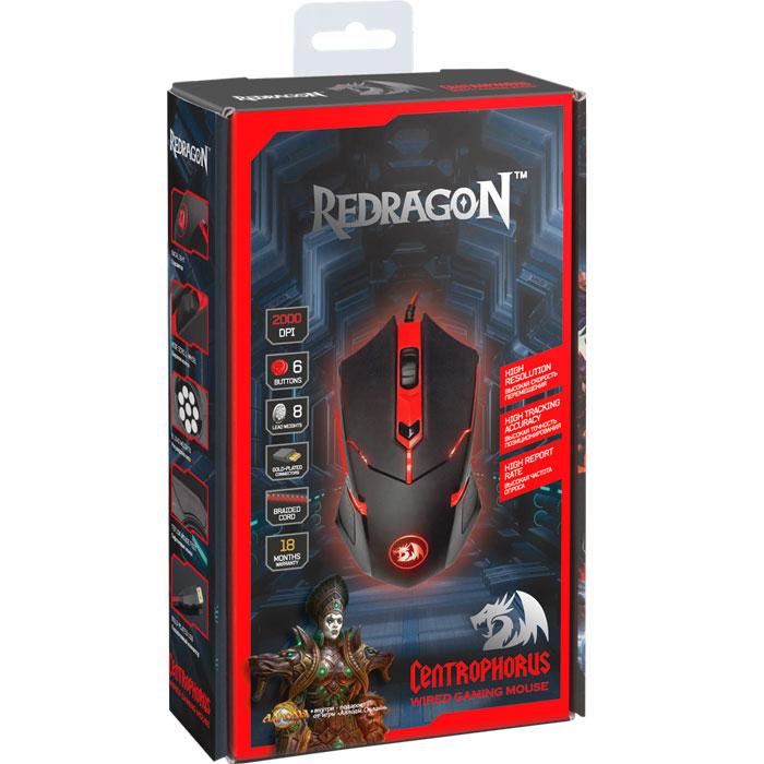 Redragon Centrophorus игровая мышь