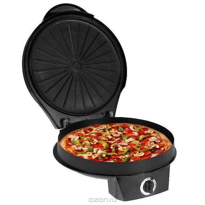 Travola SW302T пицца-мейкерSW302TTravola SW302T - надежный и удобный прибор для выпекания пиццы. С его помощью станет намного проще готовить всеми любимое блюдо в домашних условиях. Верхняя и нижняя панель с антипригарным покрытием позволят использовать меньшее количество масла или не использовать его вообще, что значительно снизит калорийность домашней выпечки. Встроенный таймер и световой индикатор облегчат процесс приготовления. Также у прибора есть специальный отсек для хранения шнура. Высота стенки нижней панели: 3 см.