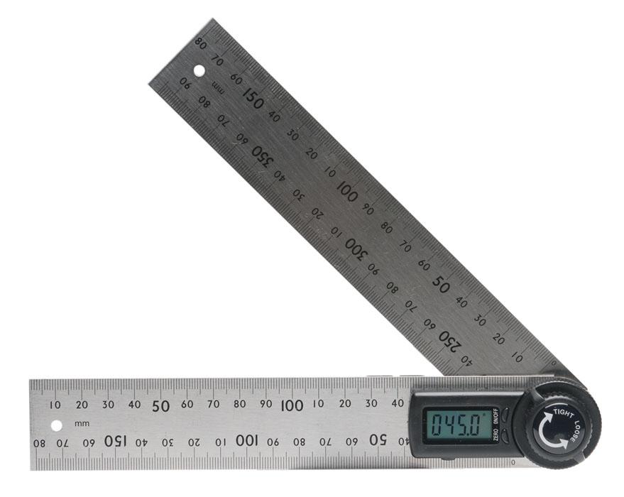 Угломер электронный ADA AngleRuler 20 A00394А00394ADA AngleRuler 20 предназначен для измерения углов. Угломер имеет встроенный электронный датчик угла, показания с которого отображаются на встроенном ЖК- дисплее. Рабочий диапазон: 0°-360° Точность: 0,3°