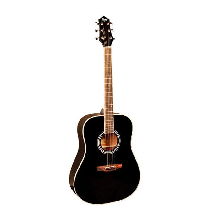 Flight AD-200, Black акустическая гитара