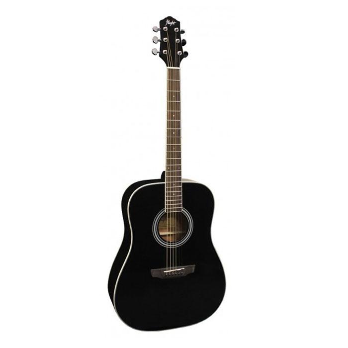 Flight D-200, Black акустическая гитара