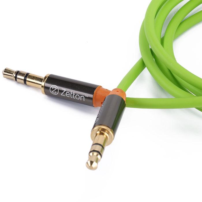 Zetton Metal, Green аудиокабель AUX (ZTLSAUX1)