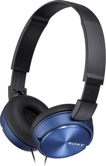 Sony MDR-ZX310, Blue наушникиMDRZX310L.AEЯркие накладные наушники от компании SONY, которые представляют собой достойное сочетание качества звука и дизайнерского решения. Изысканная модель обладает потрясающим звуком благодаря передовым технологиям и опыту компании SONY.