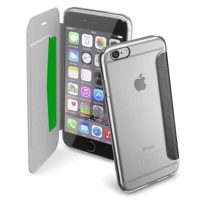 Cellular Line Clear Book чехол для iPhone 6, BlackCLEARBOOKIPH647KЧехол Cellular Line Clear Book для iPhone 6 предназначен для защиты корпуса смартфона от механических повреждений и царапин в процессе эксплуатации. Имеет свободный доступ ко всем разъемам и кнопкам устройства.
