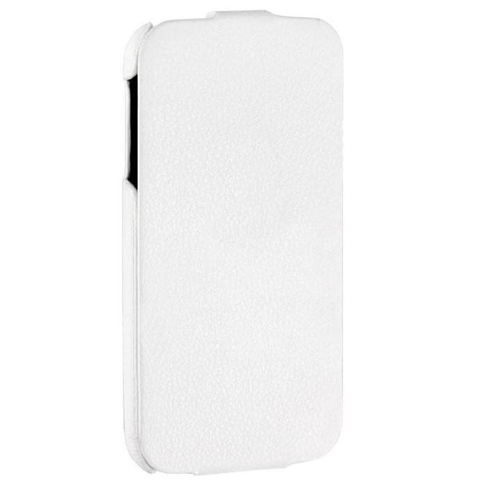 Tutti Frutti Royal чехол для Samsung Galaxy S4, WhiteTF120202Tutti Frutti Royal для Samsung Galaxy S4 - стильный аксессуар, который защитит ваше устройство от внешних воздействий, грязи, пыли, брызг. Чехол также поможет при ударах и падениях, смягчая удары, не позволяя образовываться на корпусе царапинам и потертостям. Обеспечивает свободный доступ ко всем разъемам и клавишам устройства.