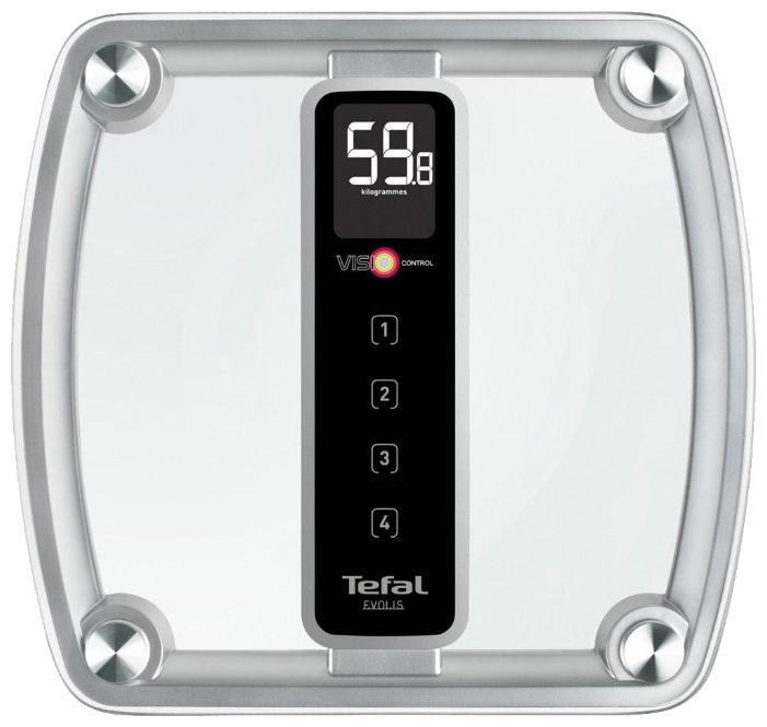 Tefal PP5150V1 Evolis напольные весыPP5150V1Точность и комфорт в использовании Весы напольные Tefal PP5150V1 помогут вам следить за своим весом. Функциональные возможности модели рассчитаны на то, что вам будет максимально комфортно пользоваться этими весами. А высокая точность измерений будет особенно полезна для того, чтобы отслеживать изменения в весе и делать соответствующие выводы. Таким образом, приобретая весы Tefal, вы получаете доступ к достоверной и оперативной информации