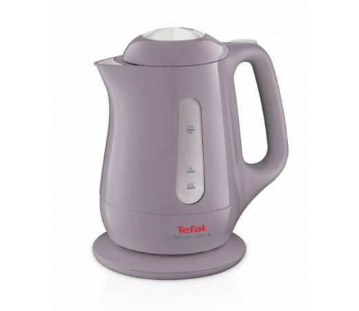 Tefal KO511H30 Silver Ion электрический чайникKO511H30Электрический чайник Tefal KO511H30 прост в управлении и долговечен в использовании. Чайник имеет индикаторы воды и включения, а фильтр препятствует попаданию накипи в воду Технология Microban обеспечивает чайникам Tefal длительную защиту от микробов и бактерий