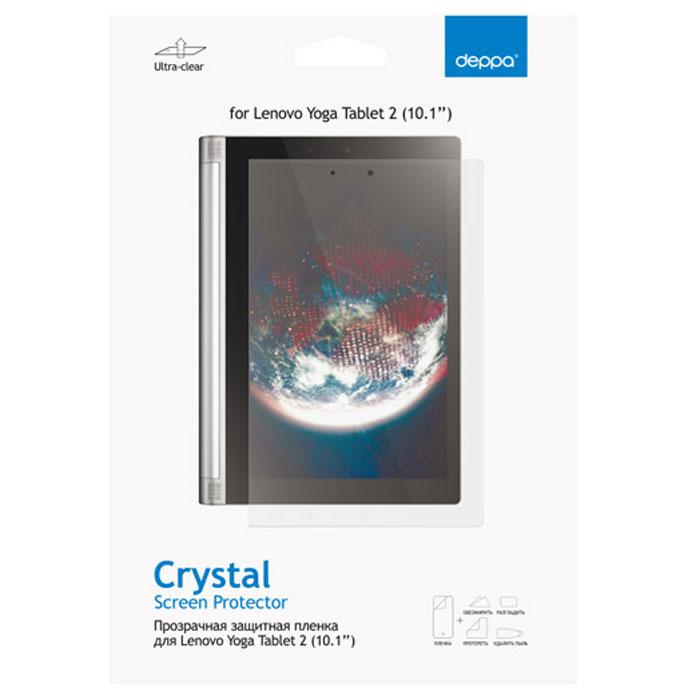 Deppa защитная пленка для планшетов Lenovo Yoga Tablet 2 (10.1), прозрачная61362Прозрачная пленка Deppa защитит устройство от царапин. Пленка изготовлена из трехслойного японского материала PET.