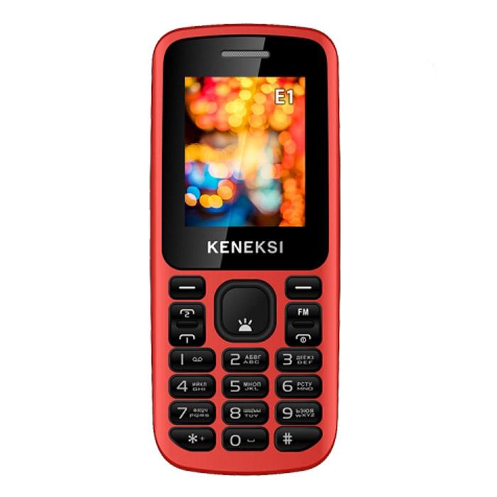 Keneksi E1, Red