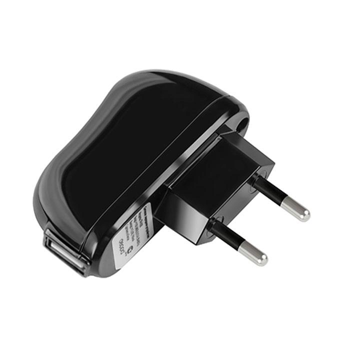 Deppa Classic USB 2.1A, Black сетевое ЗУ