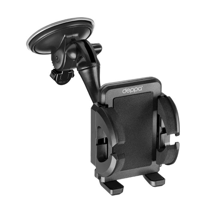 Deppa Crab 3 автомобильный держатель для смартфонов 3.5-6.5 untamo essence hc02l автомобильный держатель для смартфонов 3 5 6 3