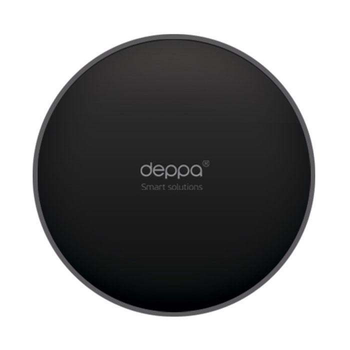Deppa Crab Disk, Black самоклеющийся диск для установки держателя на панель приборов ( 55125 )