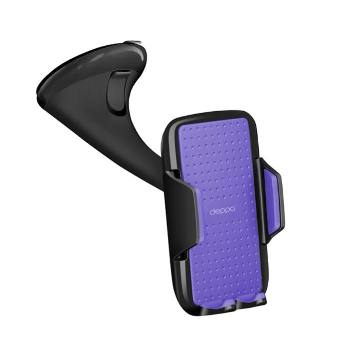 Deppa Crab Vogue автомобильный держатель для смартфонов 3.5-5.9, Black