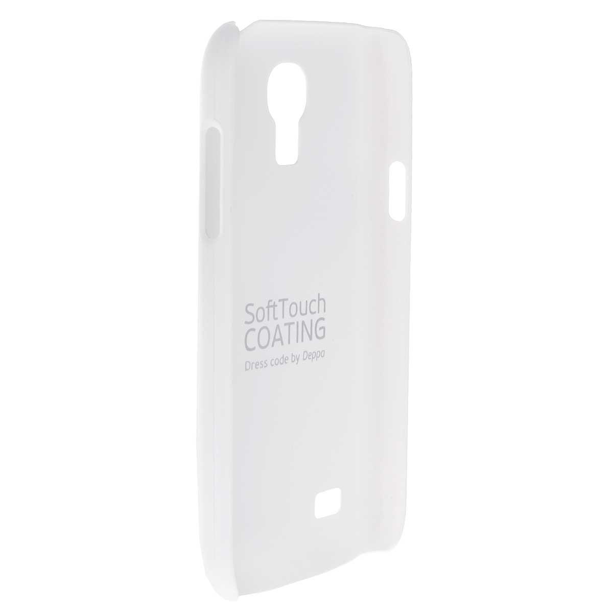 Deppa Air Case чехол для Samsung Galaxy S4 mini, White83029Чехол Deppa Air Case для Samsung Galaxy S4 mini предназначен для защиты корпуса смартфона от механических повреждений и царапин в процессе эксплуатации. Имеется свободный доступ ко всем разъемам и кнопкам устройства. Чехол изготовлен из поликарбоната Teijin производства Японии с покрытием Soft touch. В комплект также входит защитная пленка из трехслойного японского материала PET.