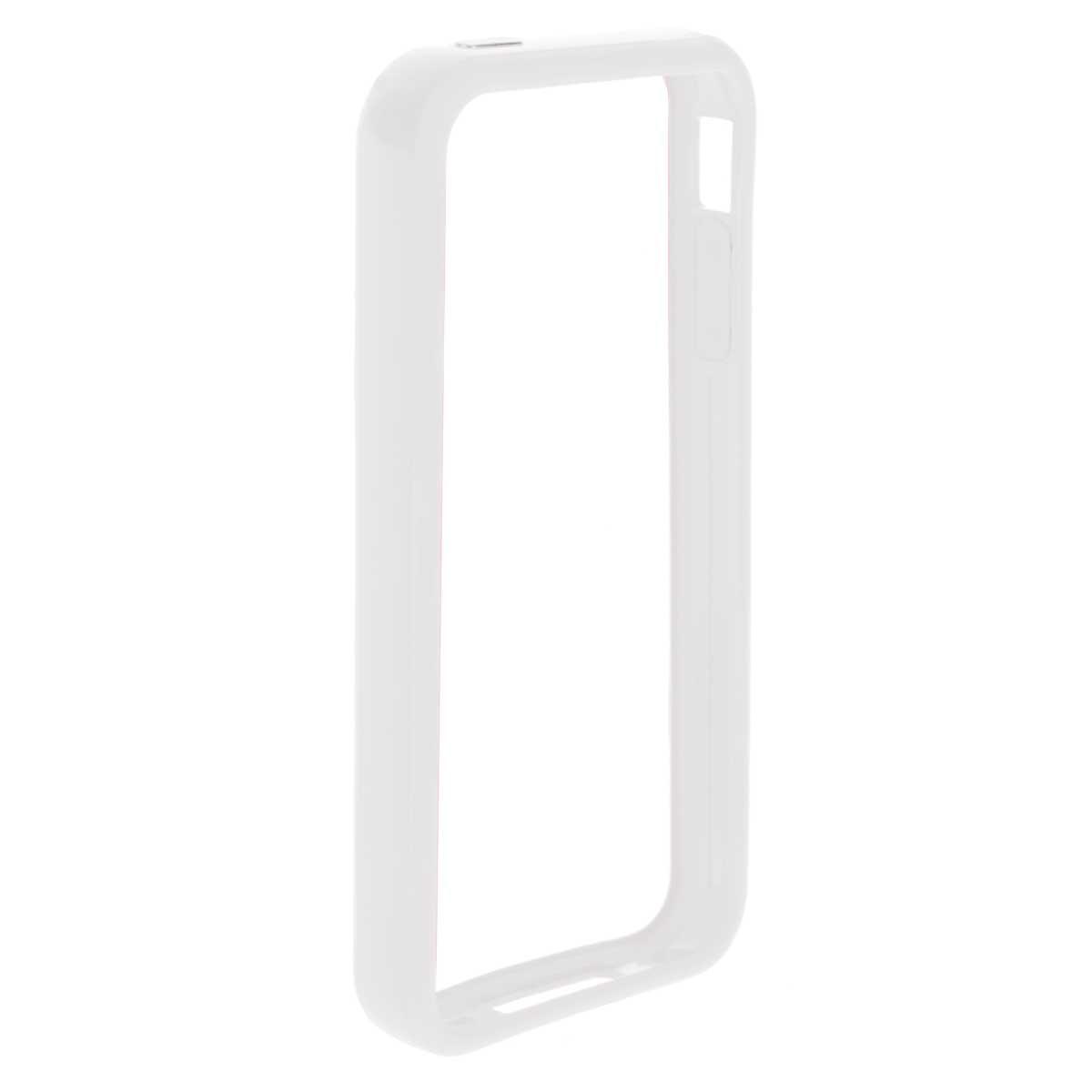 Deppa Bumper чехол-бампер для iPhone 4/4S, White чехол для iphone 4 бамбук