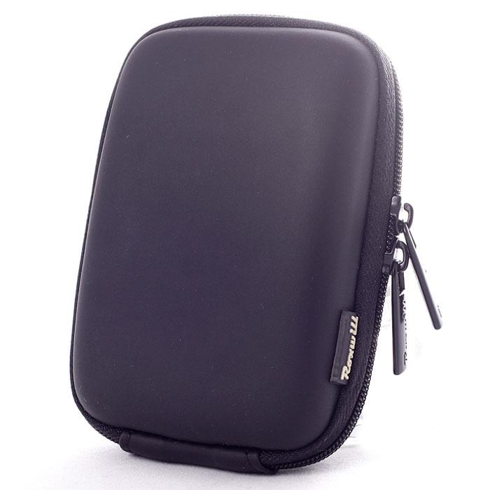 Roxwill C20, Black чехол для фото- и видеокамерC20 blackRoxwill C20 - надежный чехол для компактных фотокамер. Он гарантированно защитит вашу камеру от случайных ударов и царапин, а также от пыли и влаги. Изделие изготовлено из EVA (вспененная резина). Данный материал не подлежит воздействию агрессивных веществ и предохраняет фотоаппарат при падении. Для переноски предусмотрен регулируемый шейный ремешок и возможность крепления на поясном ремне.