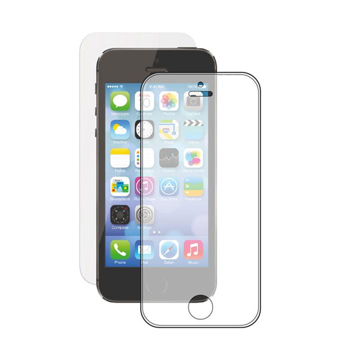 Deppa защитное стекло для Apple iPhone 5/5s/5c, прозрачное (0.3 мм)61930Прочное защитное стекло Deppa для Apple iPhone 5/5s/5c. Обеспечивает более высокий уровень защиты по сравнению с обычной пленкой. При этом яркость и чувствительность дисплея не будут ограничены. Препятствует появлению воздушных пузырей и надежно крепится на экране устройства.