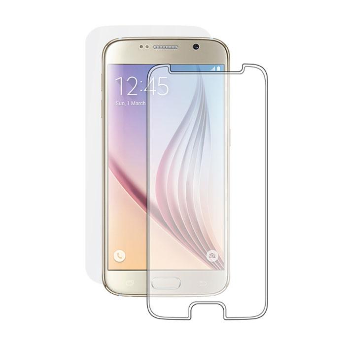Deppa защитное стекло для Samsung Galaxy S6, Clear61959Прочное защитное стекло Deppa для Samsung Galaxy S6. Обеспечивает более высокий уровень защиты по сравнению с обычной пленкой. При этом яркость и чувствительность дисплея не будут ограничены. Препятствует появлению воздушных пузырей и надежно крепится на экране устройства.