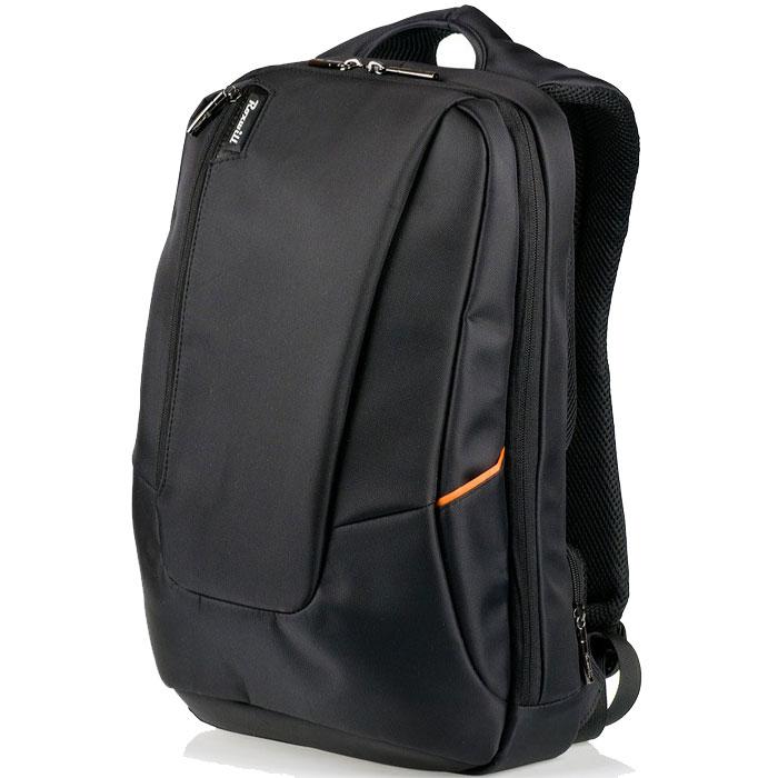 Roxwill Z90, Black рюкзак для ноутбука 15,6Z90 blackРюкзак Roxwill Z90 для ноутбуков диагональю до 15.6. Основной материал - плотный высококачественный нейлон, который надежно защитит содержимое от пыли, влаги и царапин. Карман для ноутбука выполнен из неопрена и плотно прижимает ноутбук к задней стенке рюкзака. Множество внутренних карманов позволяют разместить и зафиксировать во внутреннем пространстве планшет, смартфон, документы и множество других аксессуаров. Имеется отверстие для наушников Две двойные молнии основного отдела позволяют менять объем рюкзака от городского компактного до походного размера Секретный внешний карман в задней части для паспорта и кошелька Вентилируемые и мягкие спинные подушки системы AIRPASSAGE