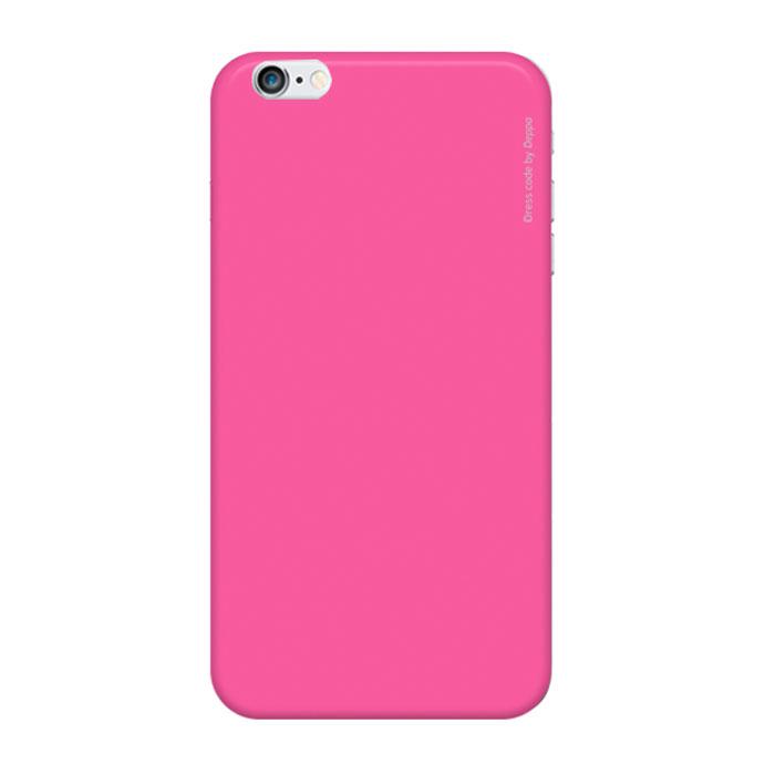 Deppa Air Case чехол для iPhone 6 Plus, Pink83127Чехол Deppa Air Case для iPhone 6 Plus предназначен для защиты корпуса смартфона от механических повреждений и царапин в процессе эксплуатации. Имеется свободный доступ ко всем разъемам и кнопкам устройства. Чехол изготовлен из поликарбоната Teijin производства Японии с покрытием Soft touch. В комплект также входит защитная пленка из трехслойного японского материала PET.