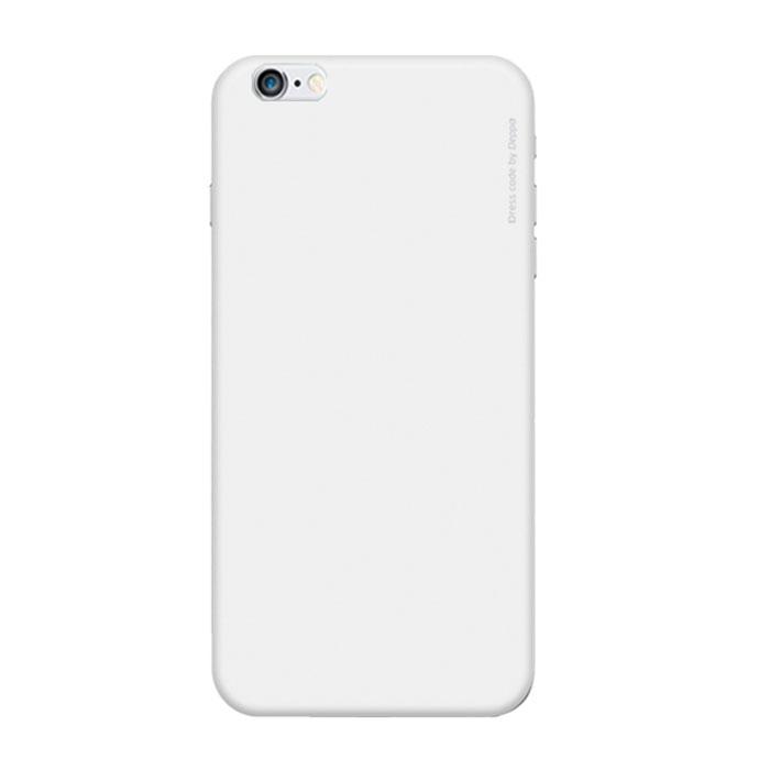 Deppa Air Case чехол для iPhone 6, White83115Чехол Deppa Air Case для iPhone 6 предназначен для защиты корпуса смартфона от механических повреждений и царапин в процессе эксплуатации. Имеется свободный доступ ко всем разъемам и кнопкам устройства. Чехол изготовлен из поликарбоната Teijin производства Японии с покрытием Soft touch.