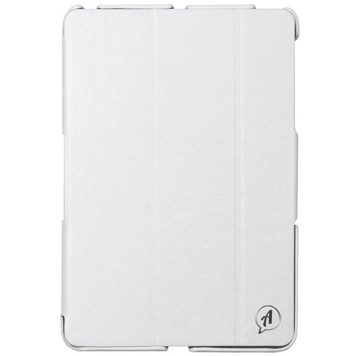 Untamo Accentika чехол для iPad mini 3, WhiteUACIPADMINI3WHСверхтонкий чехол Untamo Accentika для iPad mini 3 изготовлен из эко-кожи и прошит контрастной строчкой по краю. Плотно прилегает к устройству, формируя жесткий каркас с поверхностью матовой эко-кожи. Подкладка из микрофибры обеспечивает дополнительную защиту от механических повреждений.