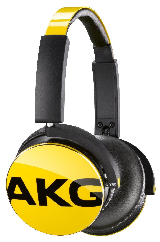 AKG Y50, Yellow наушникиY50YELAKG Y50 - качественные накладные наушники с классическим оголовьем для вашего устройства, надежно прижимающим динамики к ушам и распределяющим нагрузку по всей голове. Удобная «посадка» обеспечивает долгое, комфортное ношение. Внушительных размеров динамики передают чистый звук с выразительными низами и звонкими верхами. Встроенный микрофон позволяет общаться «без использования рук», а его высокая чувствительность делает вашу речь хорошо разборчивой на другом конце «провода». AKG Y 50 отлично подходят как для общения, так и для прослушивания музыки, радио, просмотра видеороликов и фильмов. Модель оснащена удобным пультом управления с несколькими функциями. Это значительно повышает удобство использования устройства, ведь вы можете отдавать ему команды дистанционно