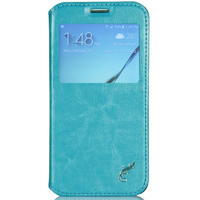 G-Case Slim Premium чехол для Samsung Galaxy S6, Light BlueGG-614Чехол G-Case Slim Premium для Samsung Galaxy S6 - это стильный и лаконичный аксессуар, позволяющий сохранить устройство в идеальном состоянии. Надежно удерживая ваш смартфон, обложка защищает корпус и дисплей от появления царапин, налипания пыли и других механических повреждений. Имеется свободный доступ ко всем разъемам устройства.