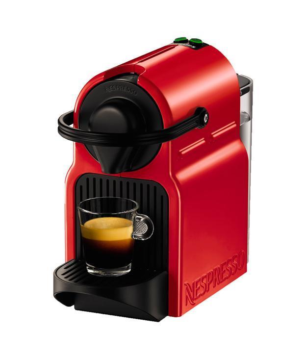 Krups Nespresso Inissia XN100510, Red кофемашина ( XN100510 )