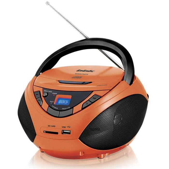 BBK BX108U, Orange Black CD/MP3 магнитола