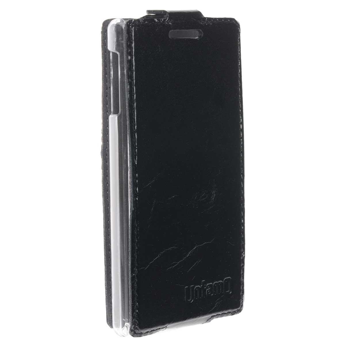 Untamo Timber чехол-флип для Huawei W1, Black (UTIMFHW1BL)UTIMFHW1BLЧехол Untamo Timber для Huawei W1 сшит вручную из натуральной кожи премиум-класса, и это видно сразу: бережно сохраненная текстура элитной кожи придает аксессуару изысканную элегантность. Легкий и одновременно прочный, чехол защитит устройство от повреждений и пыли, подчеркнет индивидуальность владельца и доставит истинное удовольствие от использования.