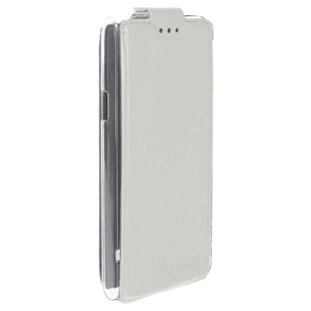Untamo Timber чехол-флип для Huawei Honor II, Ermin White (UTIMFHH2EWH)