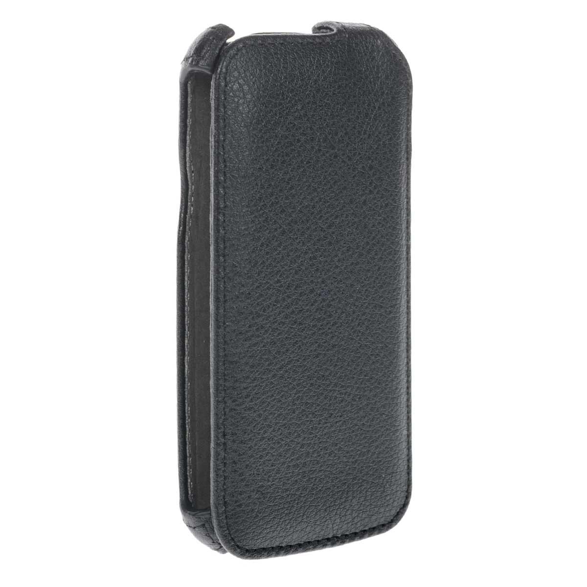 Ecostyle Shell чехол-флип для HTC Desire U, BlackESH-F-HTCU-BLЧехол-флип Ecostyle Shell для HTC Desire U надежно защитит ваш телефон от механических повреждений, грязи и пыли. Конструкция чехла обеспечивает свободный доступ к разъемам, камере и основным функциям смартфона. Мягкая внутренняя поверхность защищает экран устройства от царапин.