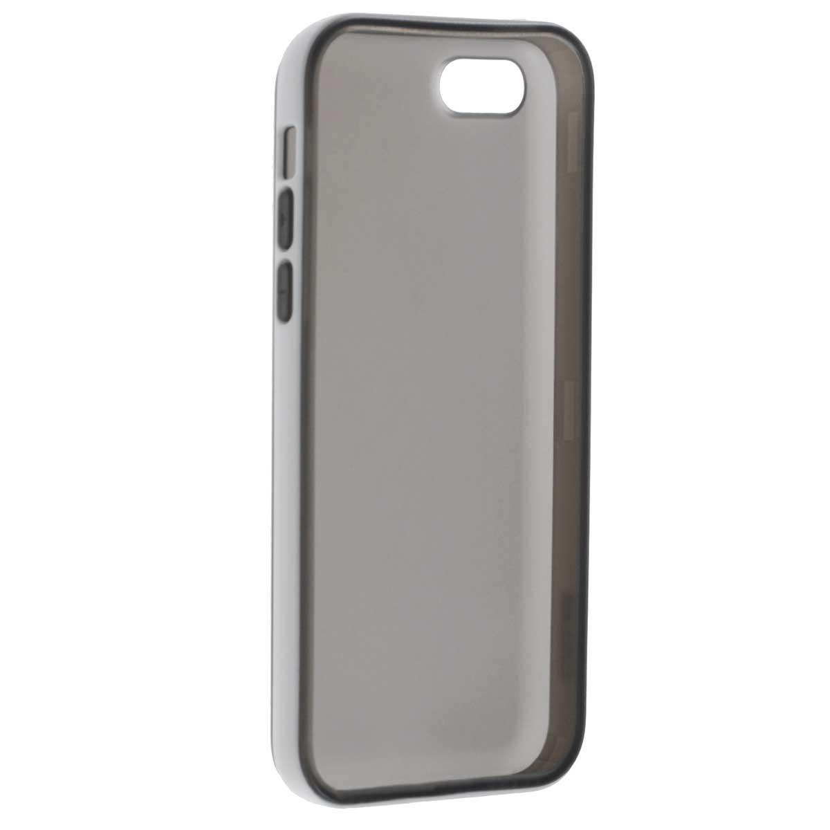 Gissar Scene чехол для Apple iPhone 5c, Black51914Чехол Gissar Scene для iPhone 5C предназначен для защиты корпуса смартфона от механических повреждений и царапин в процессе эксплуатации. Имеет свободный доступ ко всем разъемам и кнопкам устройства. Чехол можно использовать как бампер, убрав заднюю часть.
