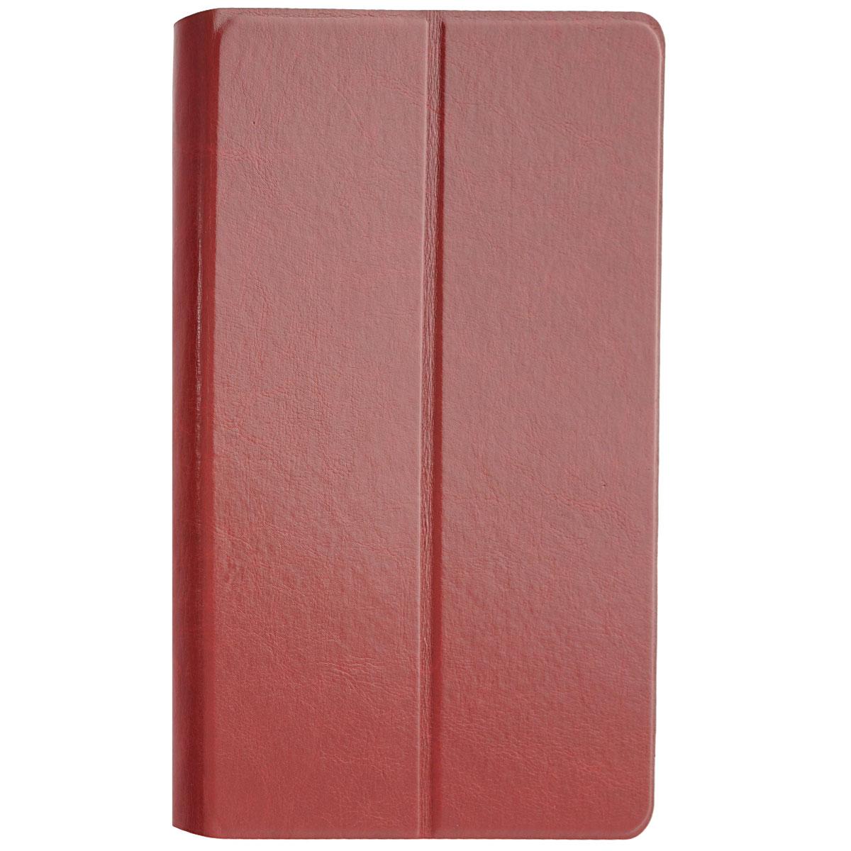 Tutti Frutti Duplex чехол для Apple iPad Air, Red WhiteTF182003Tutti Frutti Duplex - аксессуар, который защитит ваше устройство от внешних воздействий, грязи, пыли, брызг. Чехол также поможет при ударах и падениях, смягчая удары, не позволяя образовываться на корпусе царапинам и потертостям. Кроме того, он будет незаменим при длительной транспортировке устройства.