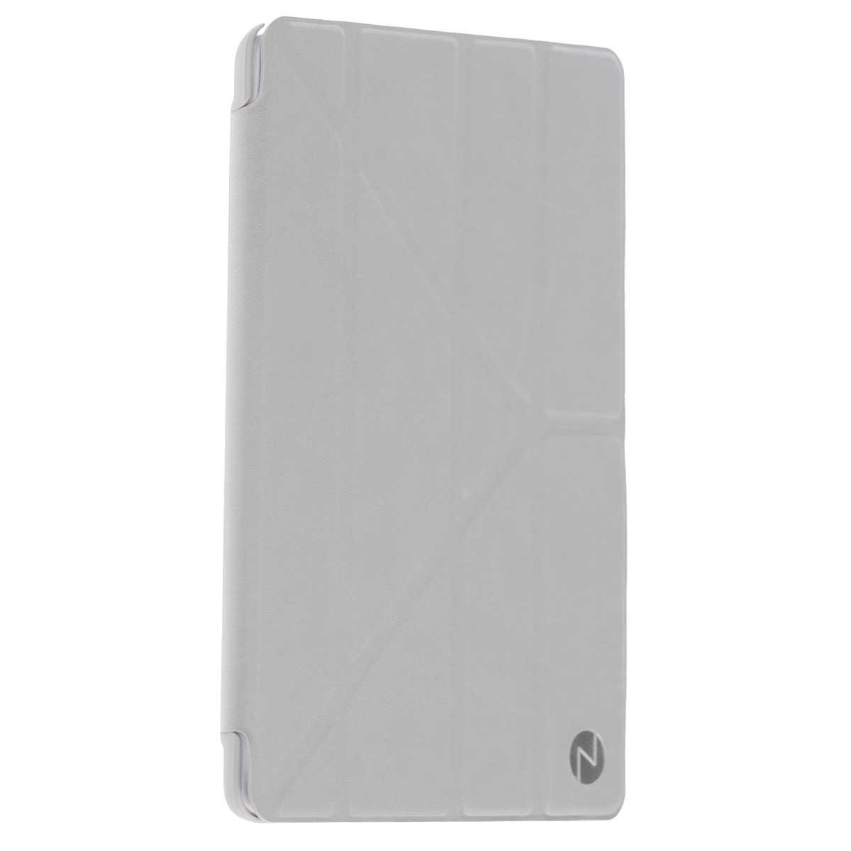 Onzo Minimal чехол для Apple iPad Air 2, GrayOZ452110Onzo Minimal - чехол-книжка с мягкой внутренней подкладкой, которая защищает экран от царапин. Имеет покрытие Soft touch, а режим Sleep Mode автоматически вводит iPad Air 2 в режим сна и выводит из него при открытии и закрытии. Мультифункциональная Y-образная крышка, помогает использовать девайс в горизонтальном и вертикальном положении под наиболее удобным наклоном.