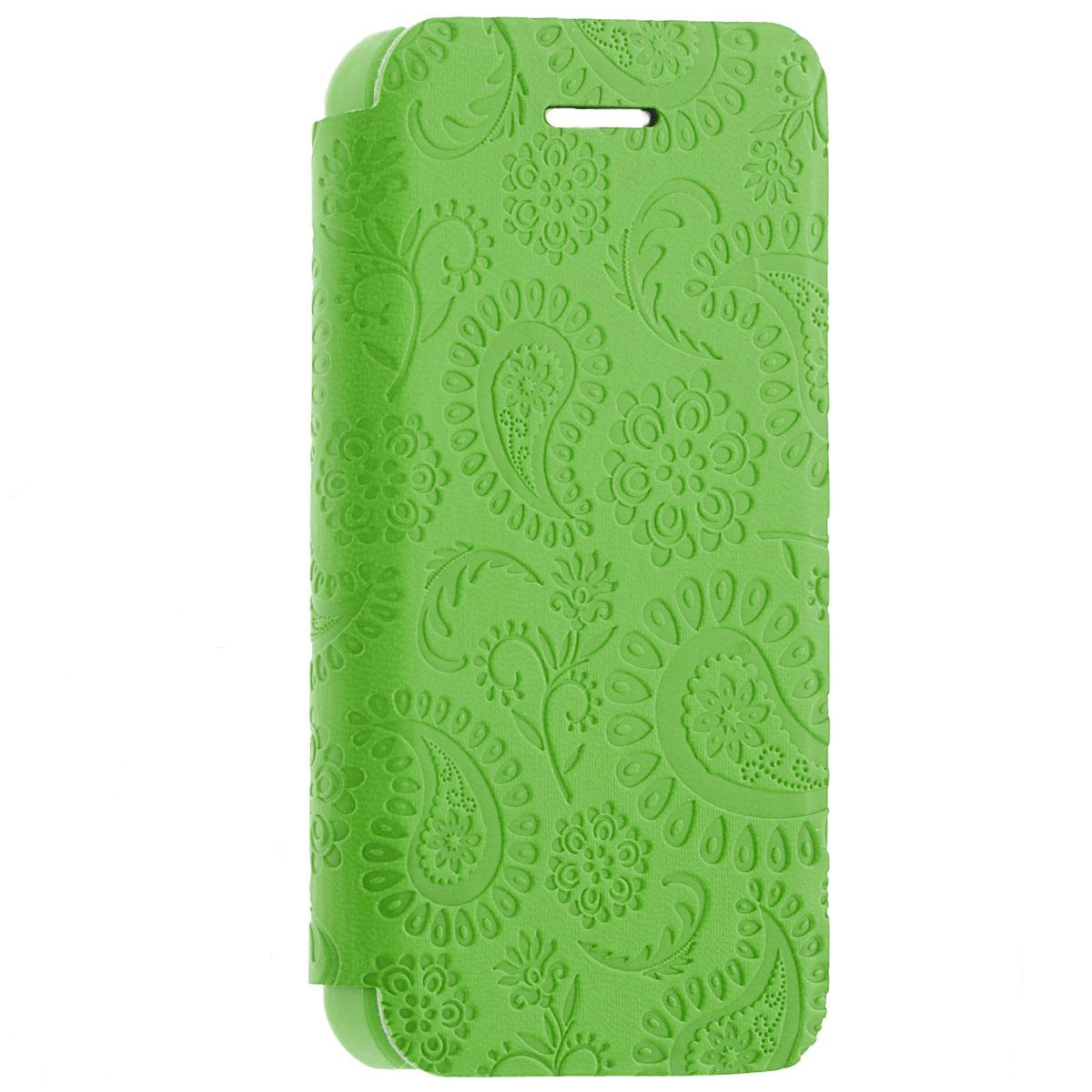 Gissar Paisley чехол для Apple iPhone 5c, Green51242Чехол Gissar Paisley для iPhone 5C предназначен для защиты корпуса смартфона от механических повреждений и царапин в процессе эксплуатации. Имеет свободный доступ ко всем разъемам и кнопкам устройства.