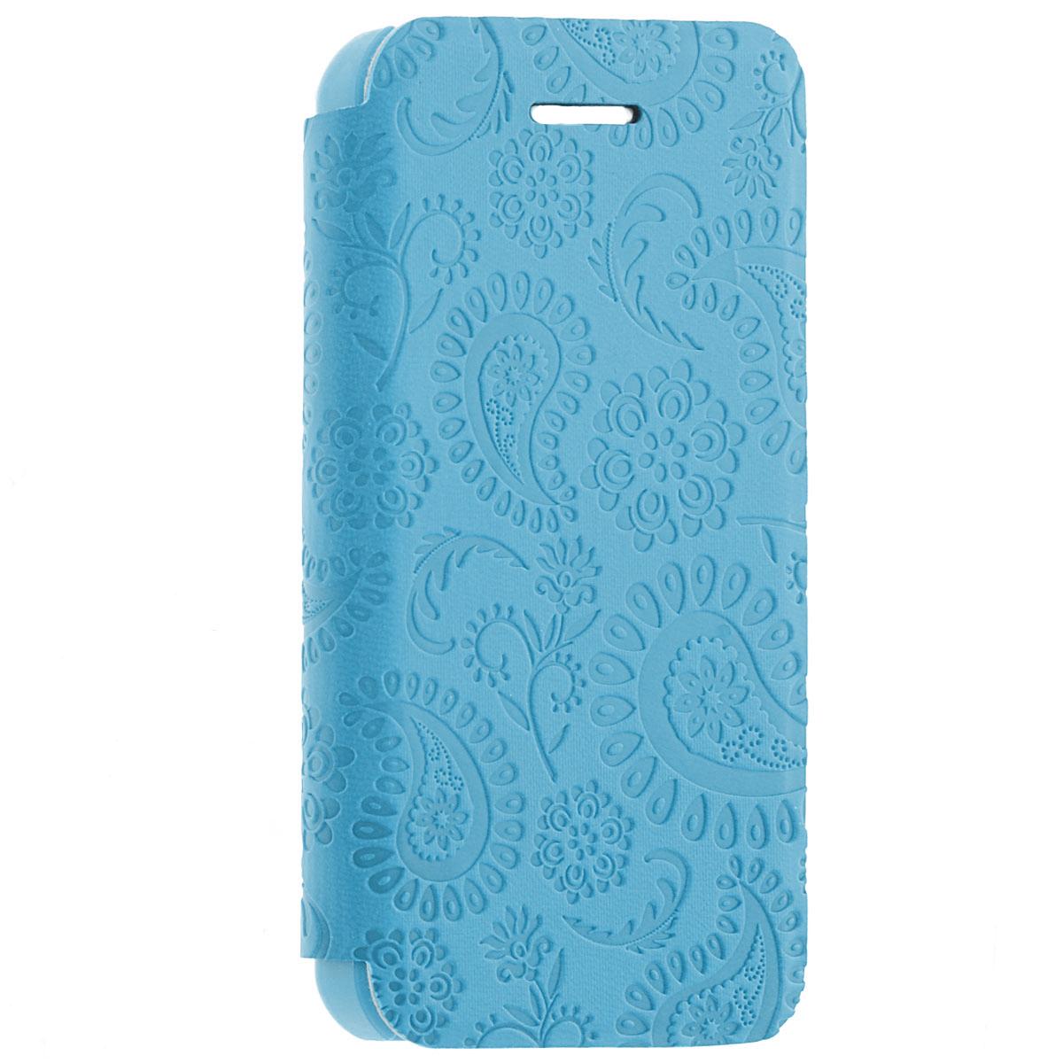 Gissar Paisley чехол для Apple iPhone 5c, Blue51259Чехол Gissar Paisley для iPhone 5C предназначен для защиты корпуса смартфона от механических повреждений и царапин в процессе эксплуатации. Имеет свободный доступ ко всем разъемам и кнопкам устройства.