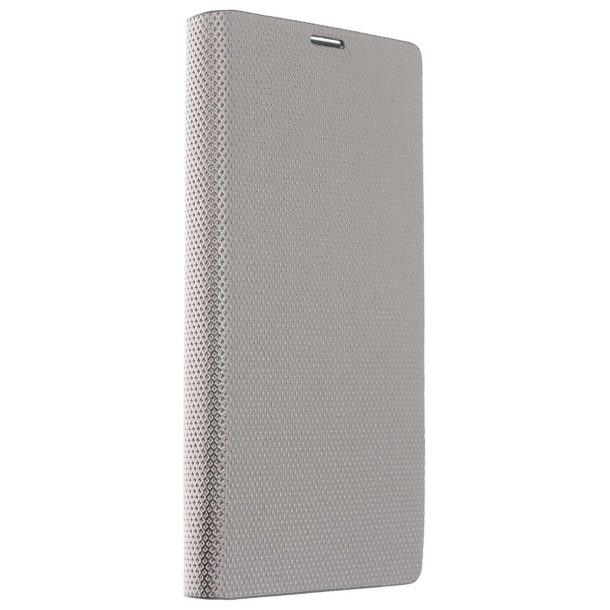 Zenus Metallic Diary чехол для Sony Xperia T3, SilverZA400344Zenus Metallic Diary для Sony Xperia T3 - стильный аксессуар, который защитит ваше мобильное устройство от внешних воздействий, грязи, пыли, брызг. Чехол также поможет при ударах и падениях, смягчая удары, не позволяя образовываться на корпусе царапинам и потертостям. Обеспечивает свободный доступ ко всем разъемам и клавишам устройства.
