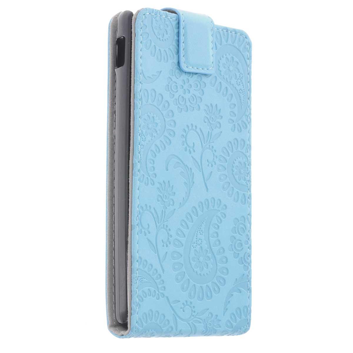 Gissar Paisley чехол для Sony Xperia SP, Blue31558Чехол Gissar Paisley для Sony Xperia SP предназначен для защиты корпуса смартфона от механических повреждений и царапин в процессе эксплуатации. Имеет свободный доступ ко всем разъемам и кнопкам устройства.